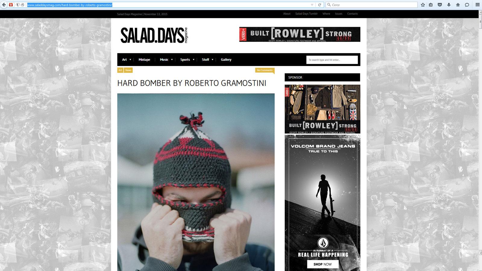 http://www.saladdaysmag.com/hard-bomber-by-roberto-gramostini/